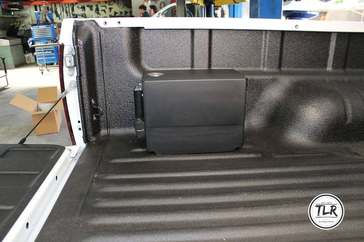 12″ BATTERY BOX LHSR MOUNT TO SUIT HOLDEN COLORADO & ISUZU DMAX