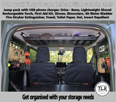 STORAGE TOP SHELF TO SUIT SUZUKI JIMNY JB74W
